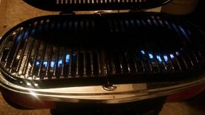 COLEMAN 9949 series ROAD TRIP GRILL/STOVE (louisville)