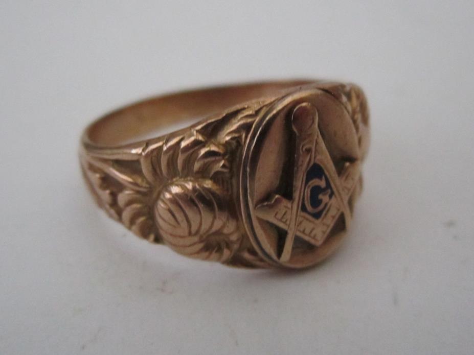 Used Masonic Rings Ebay