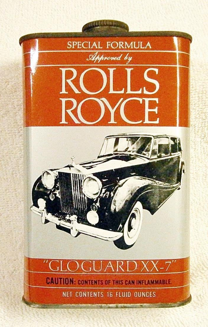 Vintage Can: Rolls Royce Car Wax Sealer