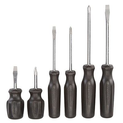 Pittsburgh 6 Piece Screwdriver Set NEW Magnetic Tips