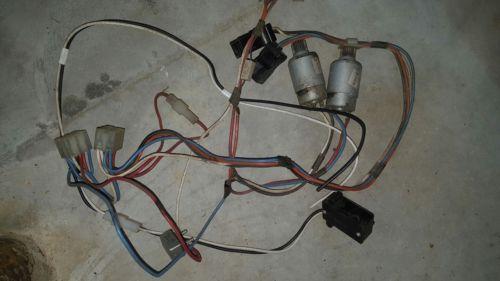 Power Wheels Wiring Harness w motors super 6 6v