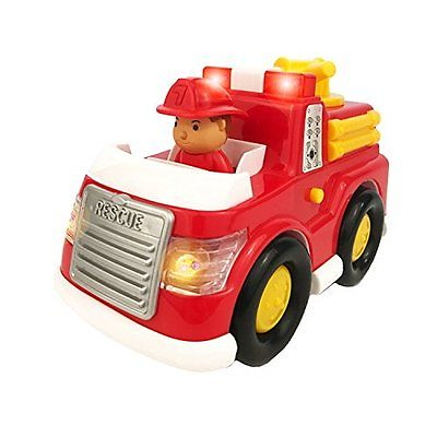 Boley Fire Truck Toy Car Toddler Electric Siren Light Play Vehicles Vehicle