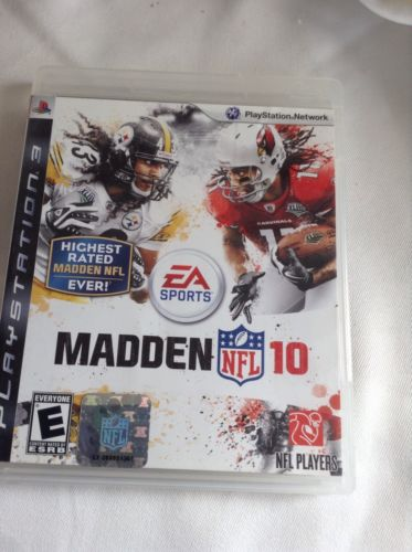 MADDEN NFL 10 PS3 PLAYSTATION 3 2010 FOOTBALL