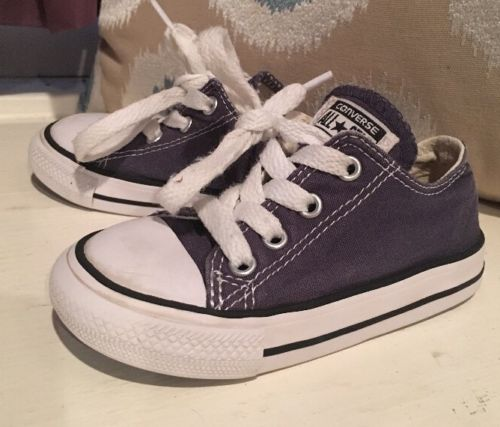 Toddler Converse Low Top Navy Blue Shoes