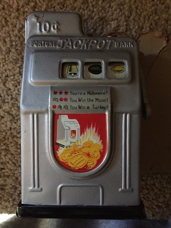Slot machine banks for sale