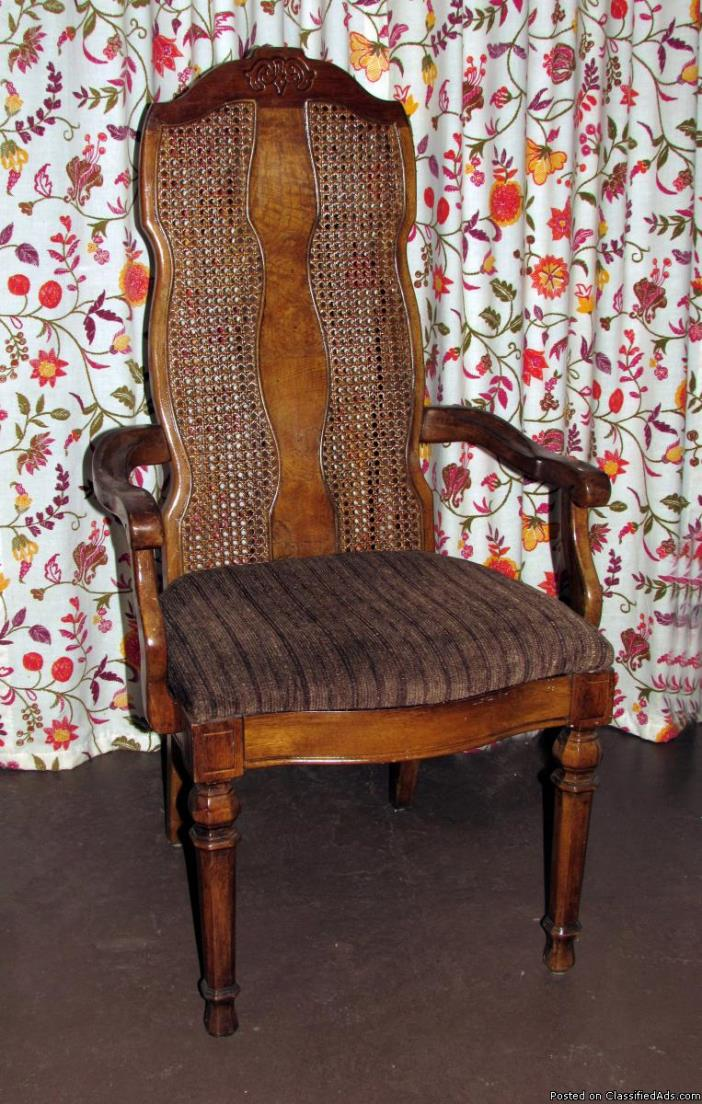 Captain's dining room chair