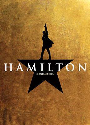 Hamilton Tickets (4) San Francisco 3-21-17