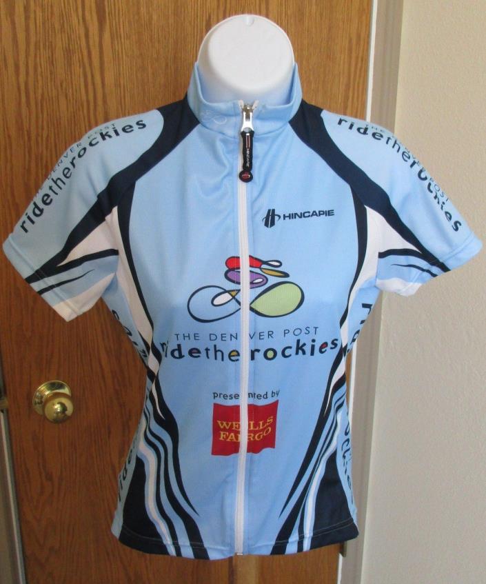 Hincapie Ride The Rockies Cycling Jersey Women's Wells Fargo Size XS NWOT