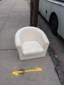 Curb Alert - Ikea Tullsta Chair