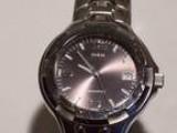 Guess Water Pro Watch.. All Silver wPurplish Face (Glendale H