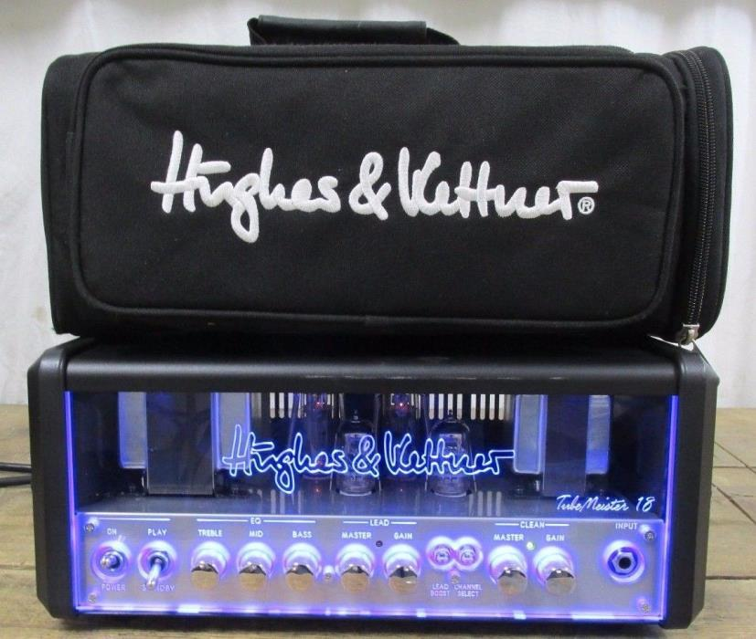 HUGHES & KETTNER TUBEMEISTER 18W GUITAR TUBE AMP HEAD