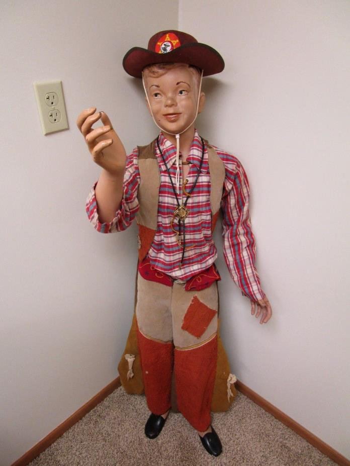 Antique Vintage Child Mannequin 52