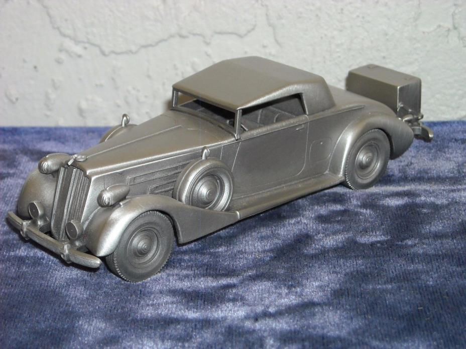 Danbury Mint Pewter 1937 Packard Coupe