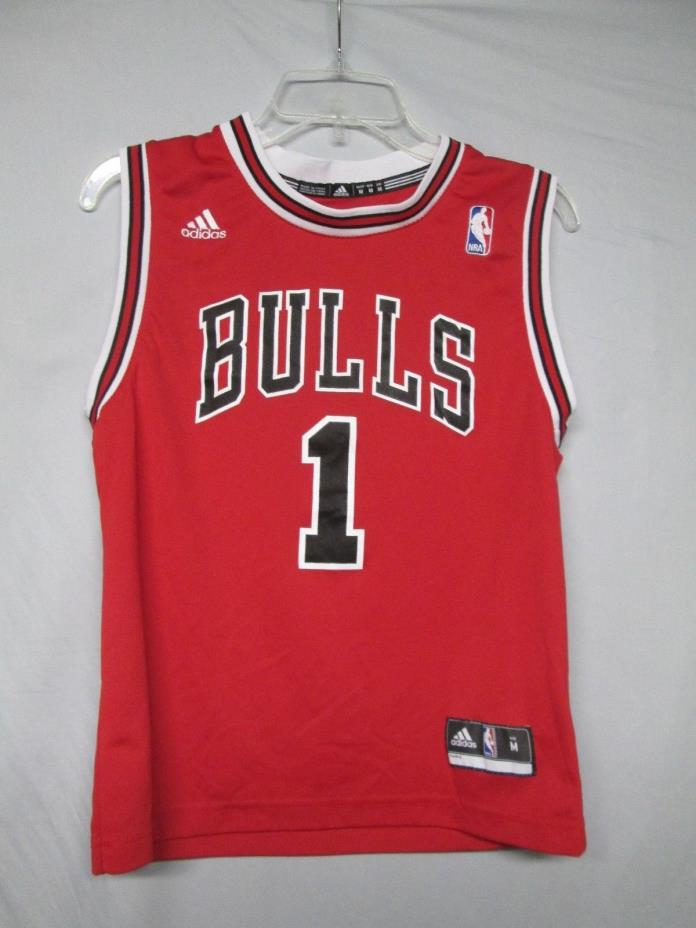 NBA Chicago Bulls Derrick Rose Adidas Youth Jersey Size Medium