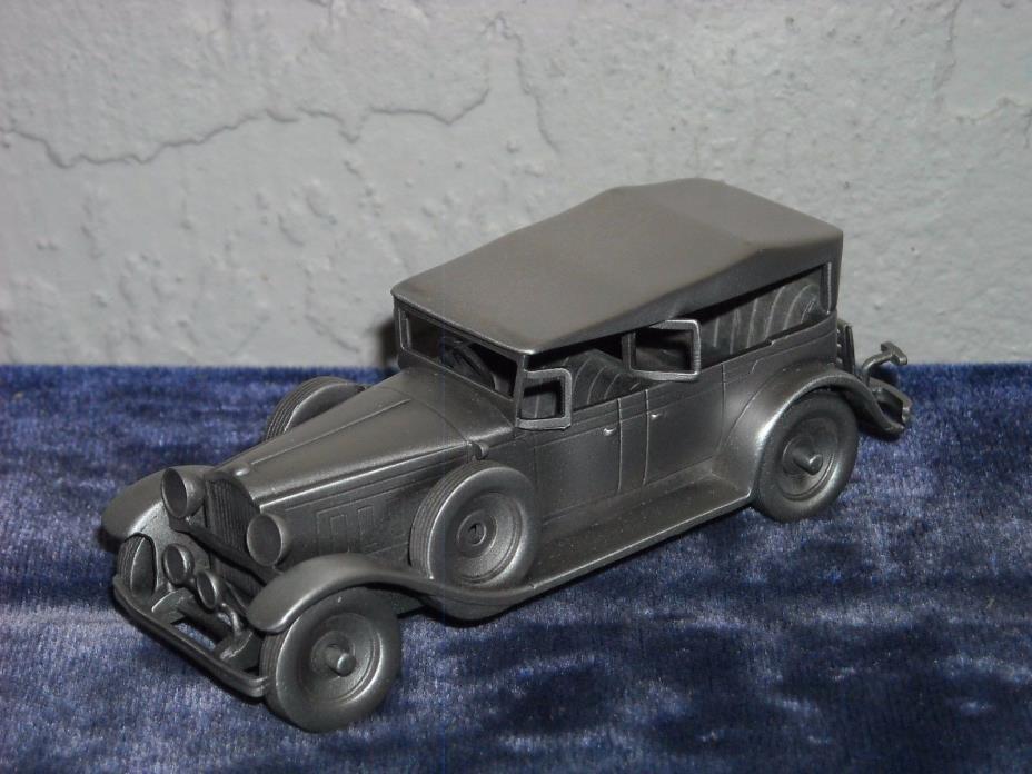 Danbury Mint Pewter 1929 Packard 640