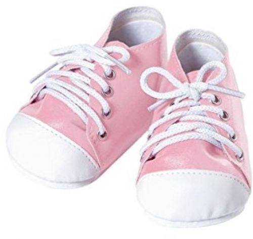Adora Baby Doll Shoe, Pink/White