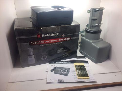 Radio Shack 15-1245 Complete Antenna Rotor System - TV HAM CB WIFI FTA Free S/H