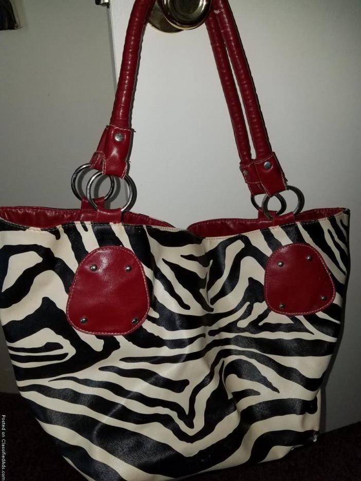 Animal print purses