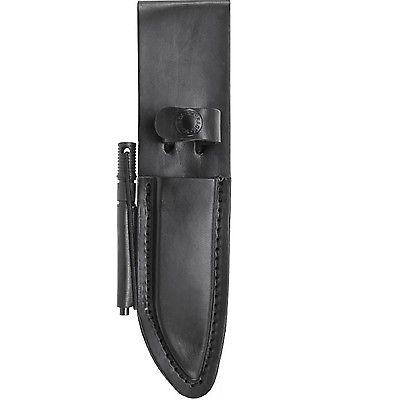 Schrade Premium Roller Coated Rich Leather Belt Sheath
