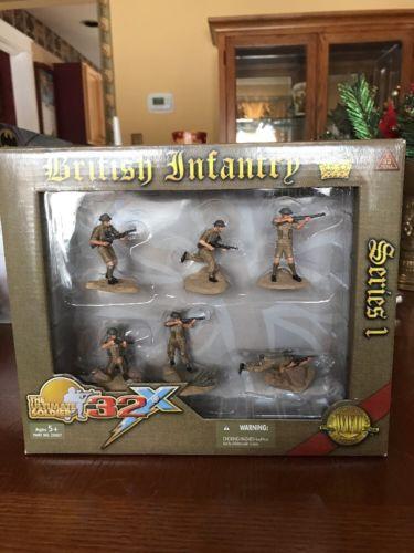 Ultimate Soldier 21st Century Toys 32X World War II British Infantry Series 1