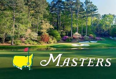 Two (2) Masters Practice Round Tickets - Tuesday 4/4/2017