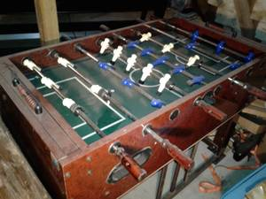 Foosball table by Sportcraft (Middleboro)