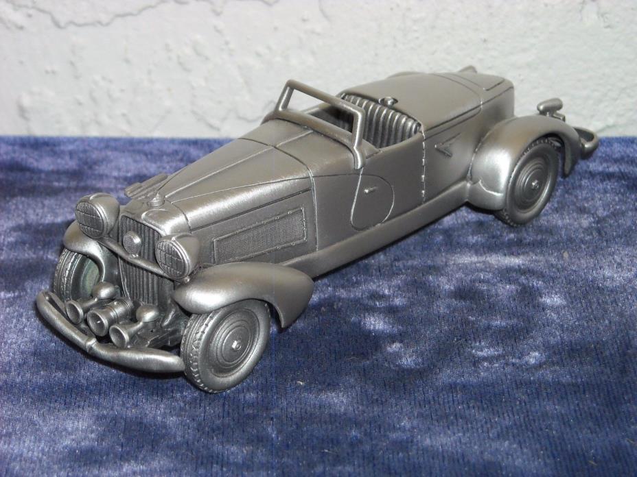 Danbury Mint Pewter 1933 Duesenberg Boattail SJ