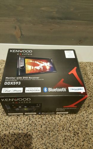 Kenwood eXcelon DDX593 Double Din 6.2