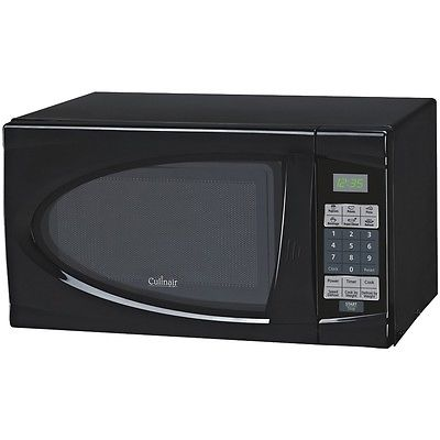 CULINAIR AM723B .7 Cubic-ft Black Kitchen Countertop Microwave Oven