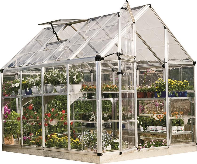 PALRAM AMERICAS 701273SNAP GROW GREENHOUSE6X8