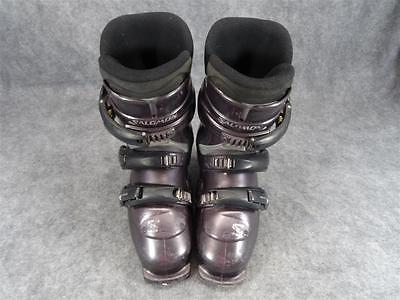 Salomom Symbio 600 Brown Ski Boots Size 24.5-10