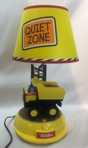 Tonka Lamp Dump Truck Construction  Animated with sound Yellow