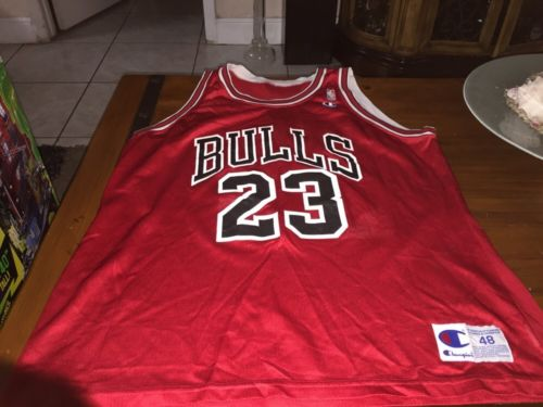 Michael Jordan - Vintage Champion Brand Jersey - Men's Size 48 - Used