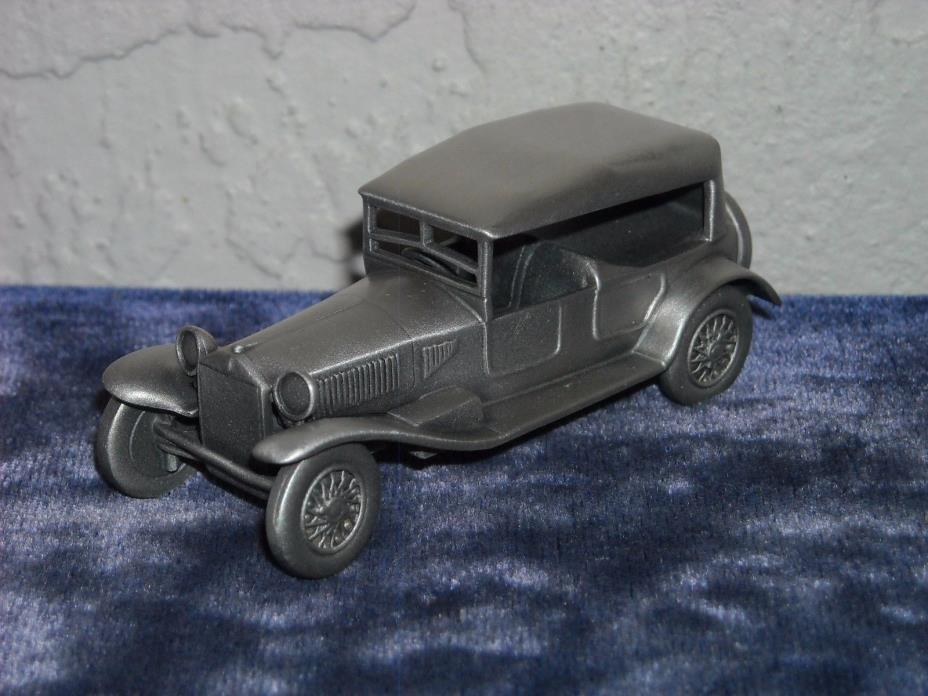 Danbury Mint Pewter 1928 Lancia Lambda