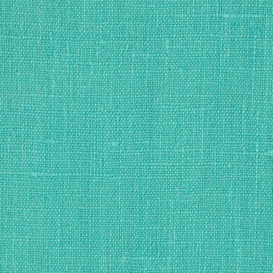 Turquoise European Linen Fabric