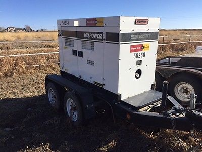 Generator 2013 trailer mounted 45KW