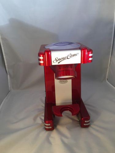 Vintage Nostalgia Electrics Snow Cone Machine