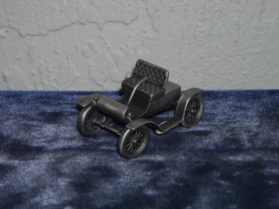 Danbury Mint Pewter 1903 Oldsmobile