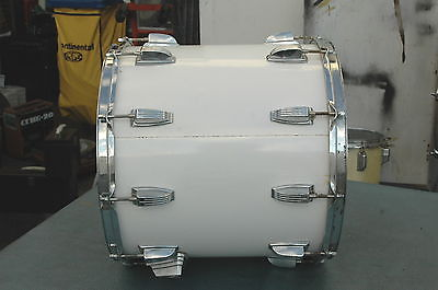 Vintage ludwig floor tom white wrap 15x14