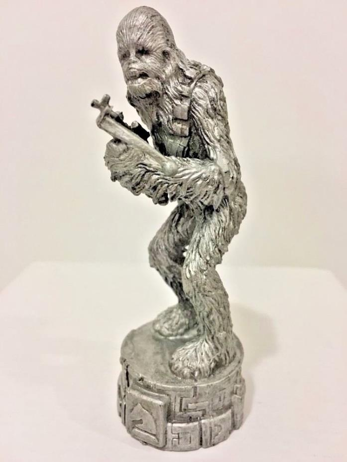 Star Wars Chewbacca Cake Topper Silver Saga Chess Replacement Piece
