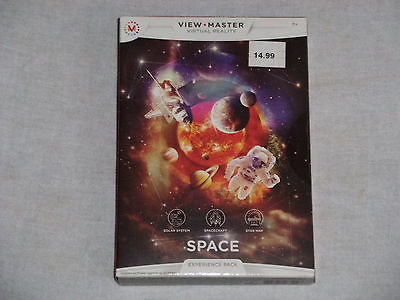 NEW View Master Virtual Reality SPACE Experience Pack 3 Reels Solar System Stars