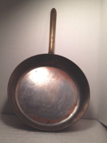 Copper Tagus Sauté Pan From Portugal