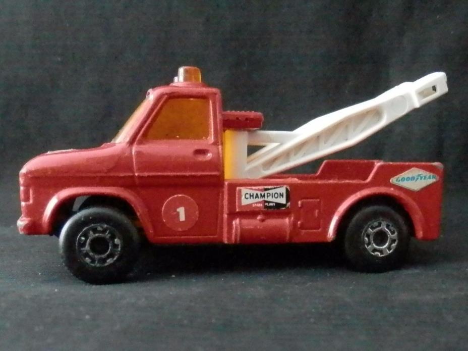 1978 Lesney Matchbox #61 Wreck Truck