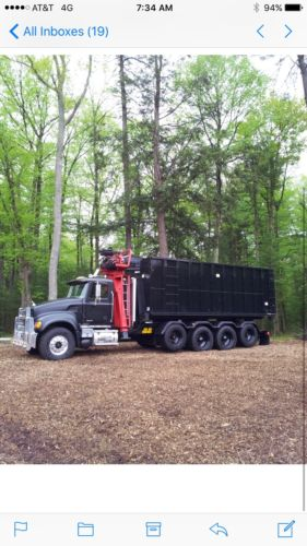 Mack Granite Log Truck