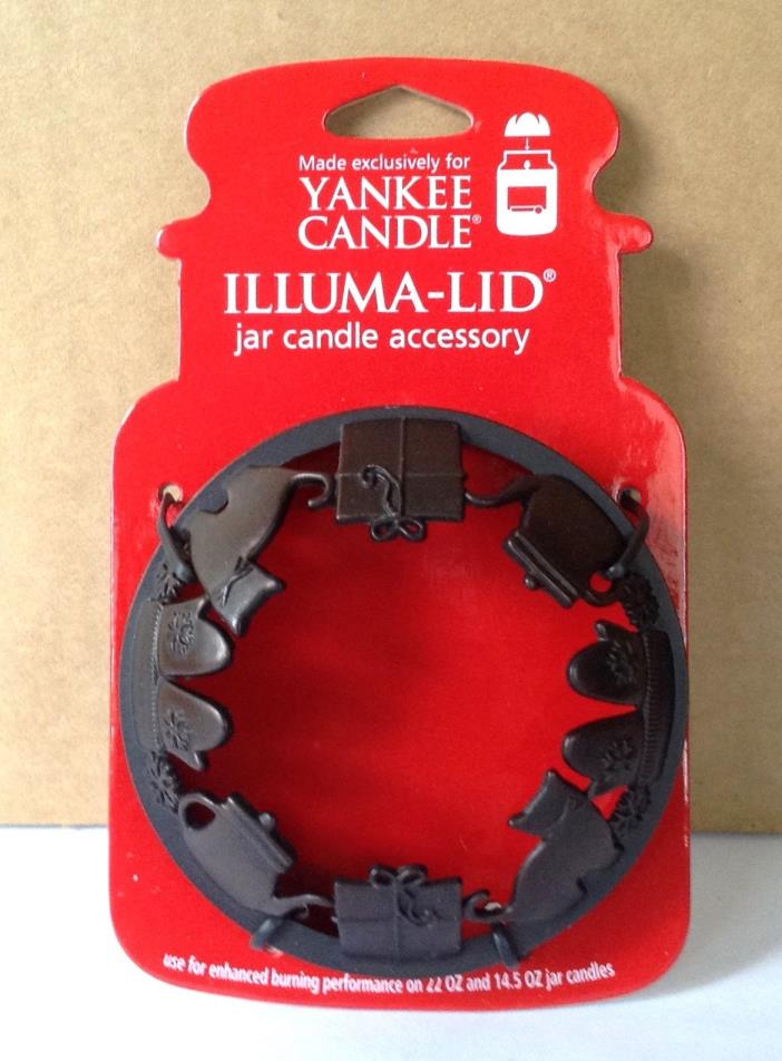 2011 YANKEE CANDLE MY FAVORITE THINGS ILLUMA LID CANDLE TOPPER FOR MED/LRG JARS