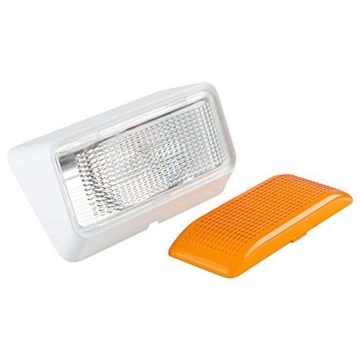 Lumitronics RV Exterior Porch Utility Light - 12v Lighting Fixture Kit with Bulb