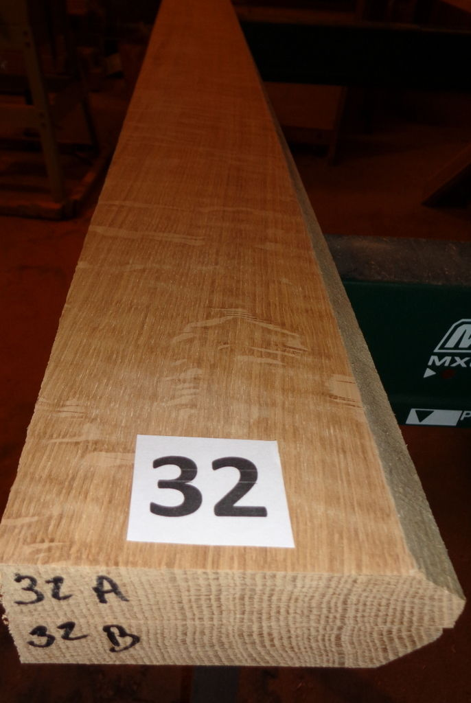 #32       Quartersawn Bookmatched White Oak Lumber / Sanded!!