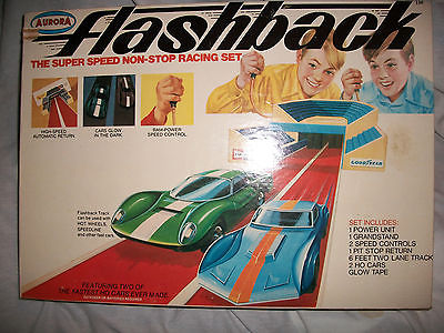 Aurora Flashback Super Speed Racing Car Set