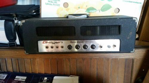 Hilgen tube bass head amplifier
