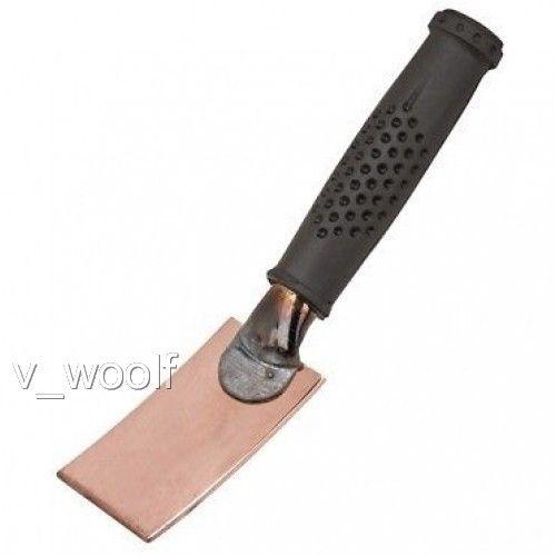 Copper Welding Spoon Curved Pad Heat Sinc Welding Welders Helper Free Ship NEW